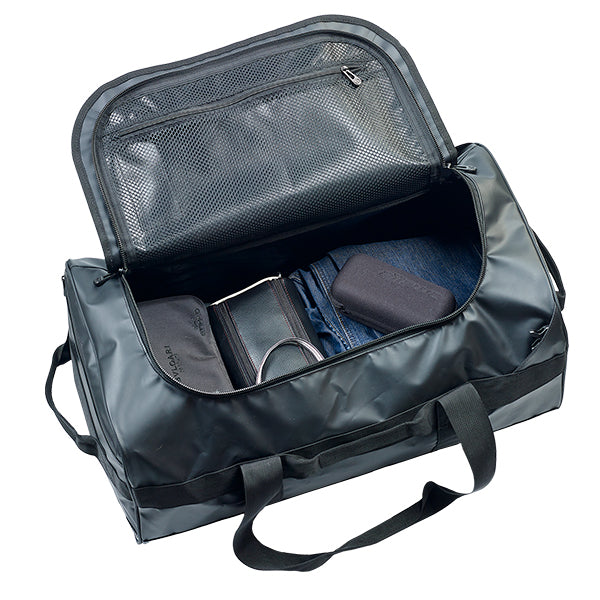 Caribee Titan 50L Gear Bag Black open
