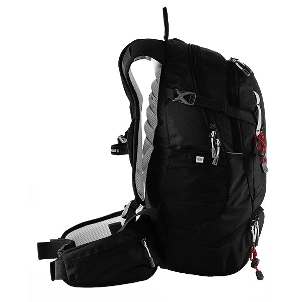 Caribee Trek 32 backpack Black side