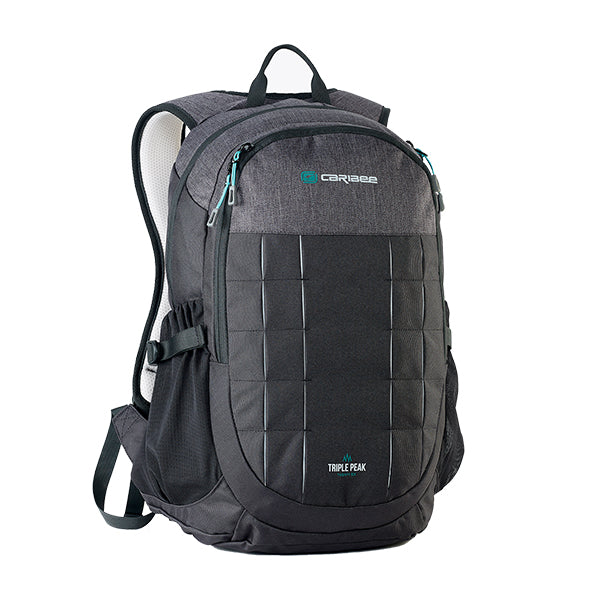 Caribee Triple Peak 28 backpack black