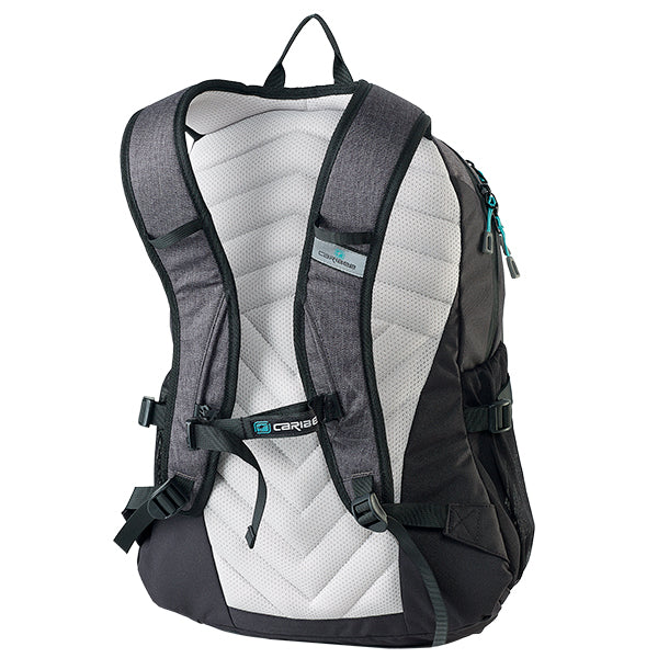 Caribee Triple Peak 28 backpack black harness