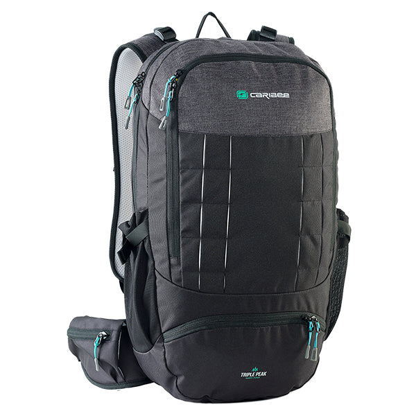 Caribee Triple Peak 34 backpack black