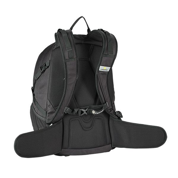 Caribee Valor backpack in black harness
