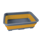 Collapsible camping wash basin