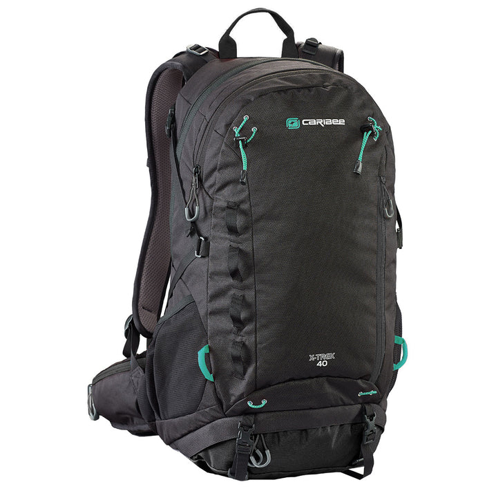 Caribee X-Trek 40 Black_Green
