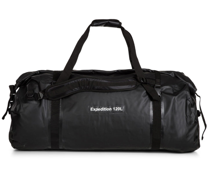 Caribee Expedition 120L waterproof bag black rear