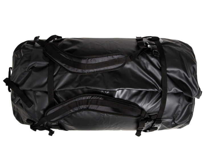 Caribee Expedition 120L waterproof bag black top