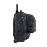 Caribee Sky Master 80L wheel travel pack side profile