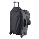 Caribee Sky Master 80L wheel travel backpack rear view