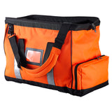 Caribee Wide Mouth Kit Bag orange open