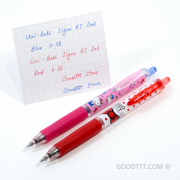 Uni-Ball Signo RT Gel Pen Hello Kitty Limited Edition Red Ink (UMN-158SR .15KD)