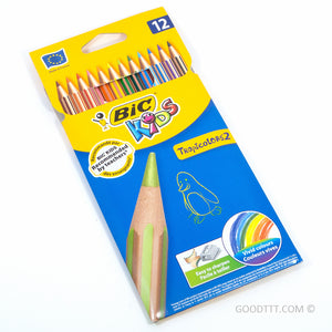 BIC Tropicolors 2 Colouring Pencils - 12 colours