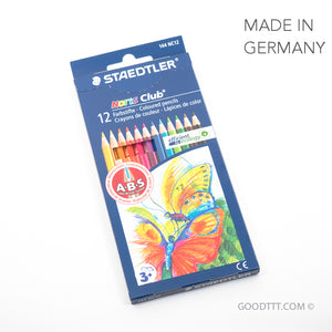 Staedtler Noris Club - 12 Coloured Pencils
