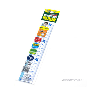 Raymay Ruler 15 cm