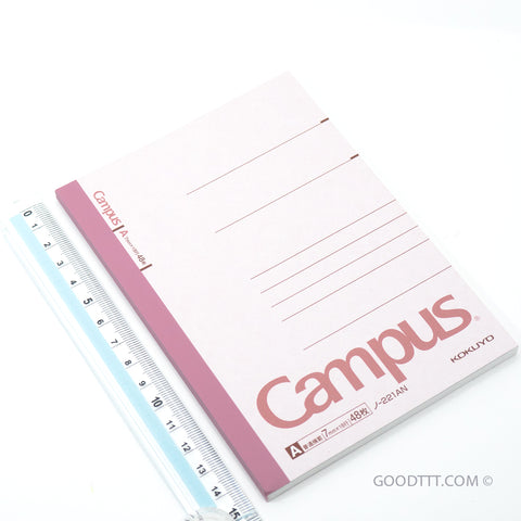 Kokuyo Campus Note Pink (~15 CM TALL) No-221AN