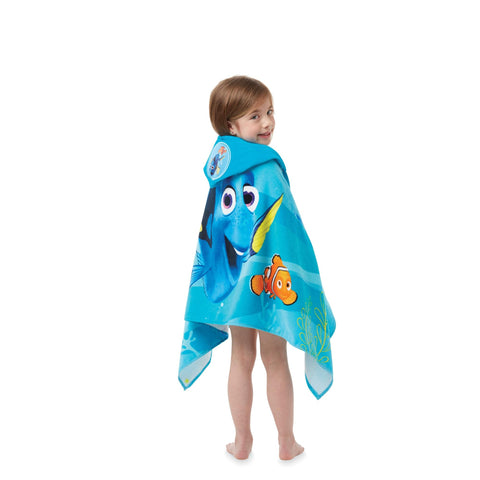 迪士尼 大游泳毛巾 連帽 Disney Hooded Beach Towel - Finding Dory HI01-Q2/16L23748