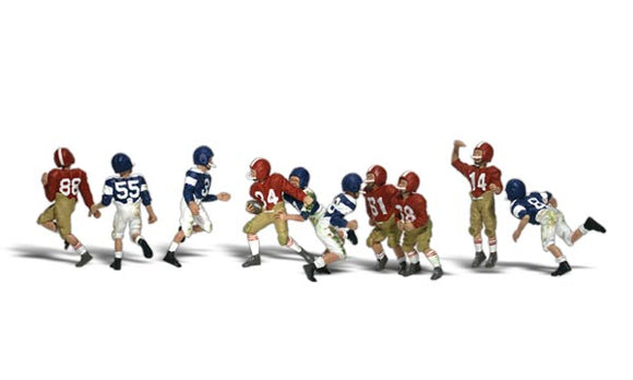 Woodland Scenics N Scale Youth Football Players