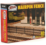 Atlas HO Hairpin Fence Item 774
