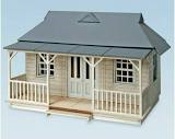 Peco model scene cricket pavilion 5400