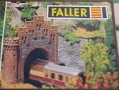 Faller HO B-557 North and South Tunnel portals Kit