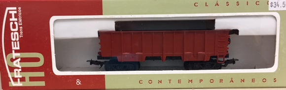Frateschi Freight Wagon Ore Gondola Style B Red Oxide 2052NZ