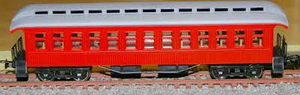 Frateschi HO Passenger Car Clerestory 1st Class Car Red 2498NZ