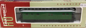Frateschi Passenger Car Clerestory Baggage Car Green 2620NZ