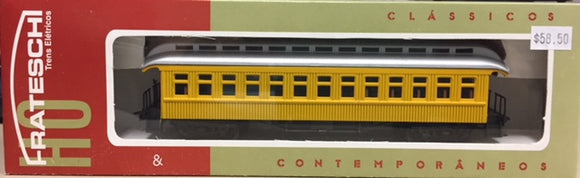 Frateschi Passenger Car Clerestory 1st Class Car Yellow 2616NZ