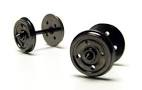 Hornby 14.1mm Diameter Metal 2 hole disc wheels