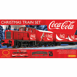 Hornby OO Christmas Coco Cola Train Set