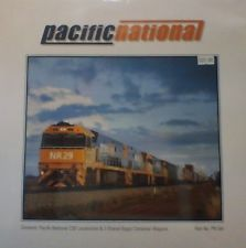 Pacific National C30 Locomotive & 3 shared Bogie Container Wagons