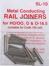 Peco Streamline Rail Joiners SL-10 pack of 24