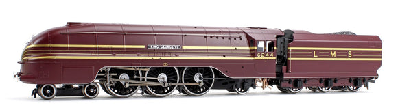 Hornby 00 LMS Streamlined Princess Coronation Class King George V1