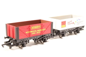 Hornby 00 R6786 New Era Wagon Twin Pack Limited Edition No 1150