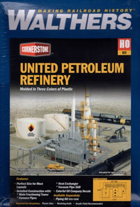 Walthers HO Kit United Petroleum Refinery