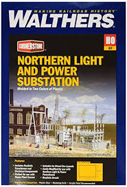 Walthers HO Northern Light and Power Substation