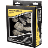 Woodland Scenics Ready Rocks Outcroppings C1139