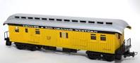 frateschi  Baggage Car Yellow 2615