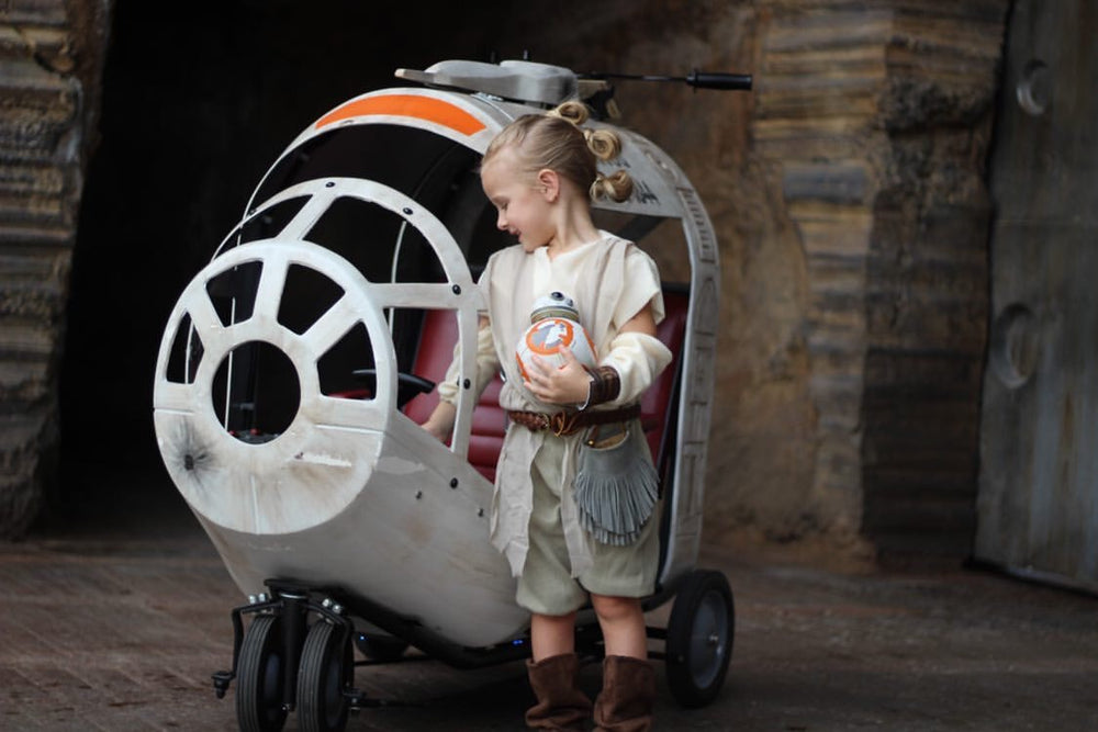 Spaceship Stroller - Mickey's Halloween / Christmas Party Rental