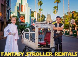 Spaceship Stroller - Mickey's Christmas Party Rental