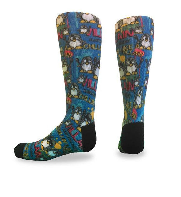 Flow Society - Chillin Villain Youth Lacrosse Crew Socks
