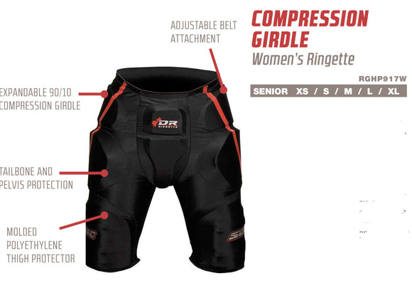 DR compression ringette girdle