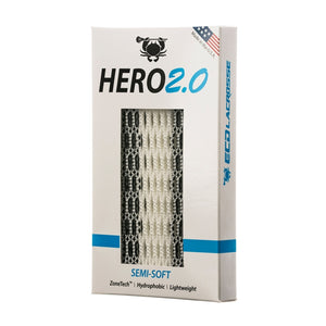 East coast Dyes Hero 2.0 lacrosse mesh red zone fade