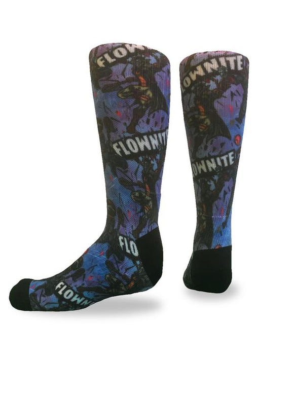 Flow Society - Flownite Youth Lacrosse Crew Socks