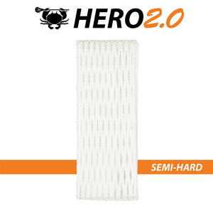 East coast Dyes Hero 2.0 lacrosse mesh white