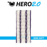 East coast Dyes Hero 2.0 lacrosse mesh purple striker