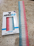 East coast Dyes Hero 2.0 lacrosse mesh South Beach zone fade