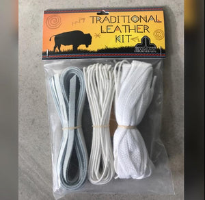 Jimalax Traditional Leather Stringing Kit