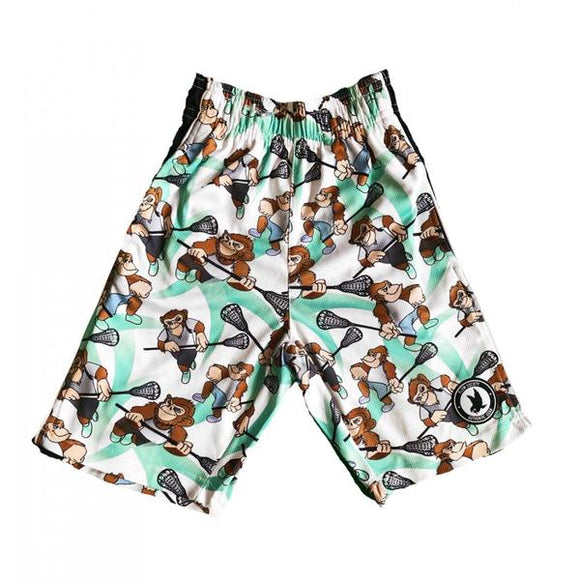Flow Society - Laxing Chimp Men's Lacrosse Shorts