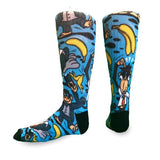Flow Society - Monkey Suit Youth Lacrosse Crew Socks