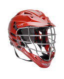 Cascade CPX-R lacrosse helmet red side view